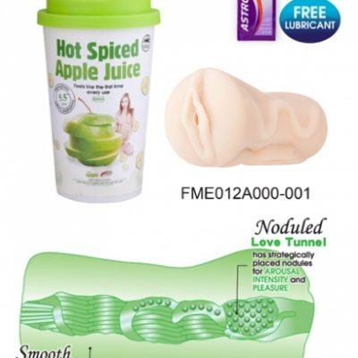 דמוי וגינה איכותי בכוס פרי התפוח